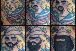 Estas diez personas taparon sus tatuajes y el resultado fue PEOR