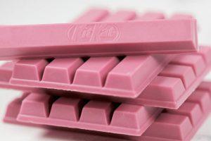 El chocolate rosa llega a las golosinas y queremos probarlo YA