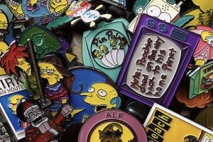 Mostró su colección de pins de Los Simpsons y los vas a querer TODOS
